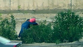 turban hijab voyeur turkish